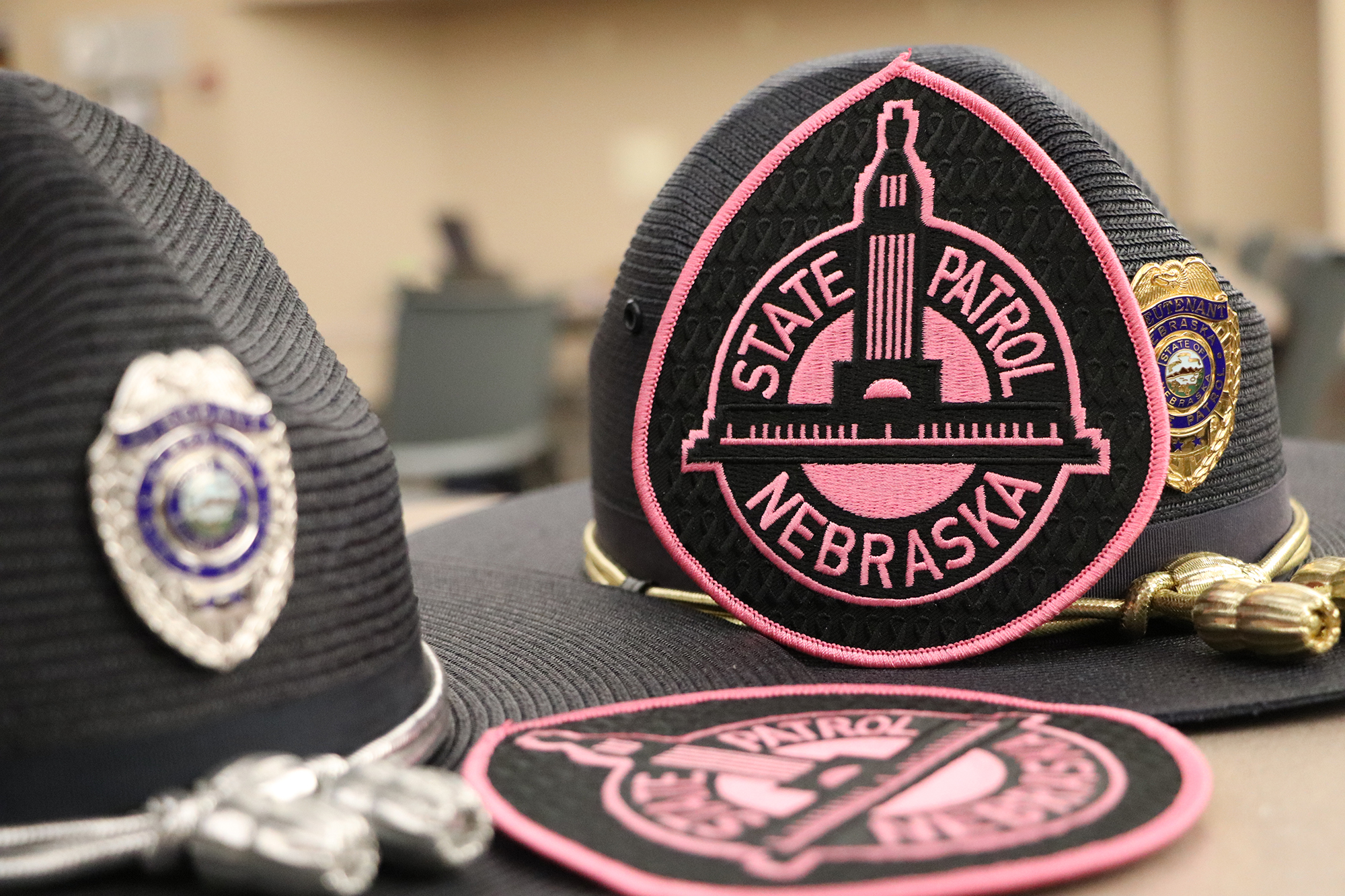 State Troopers Don Pink Patches for October